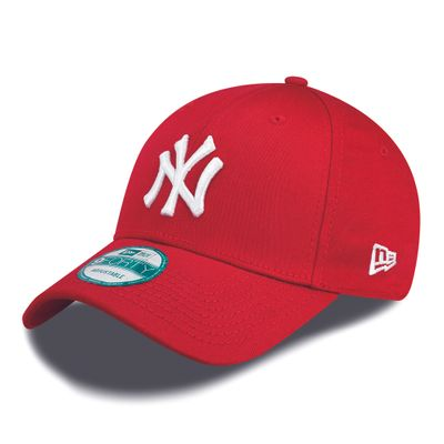 New Era Cap 9FORTY League Basic NY Yankees Scarlet/White Kids Youth Produkt Foto