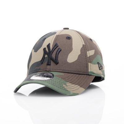 New Era Cap 9FORTY Woodland Camo NY Yankees Black Logo Produkt Foto