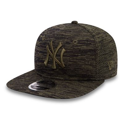 New Era Snapback Cap 9FIFTY Engineered Fit NY Yankees Olive  Produkt Foto