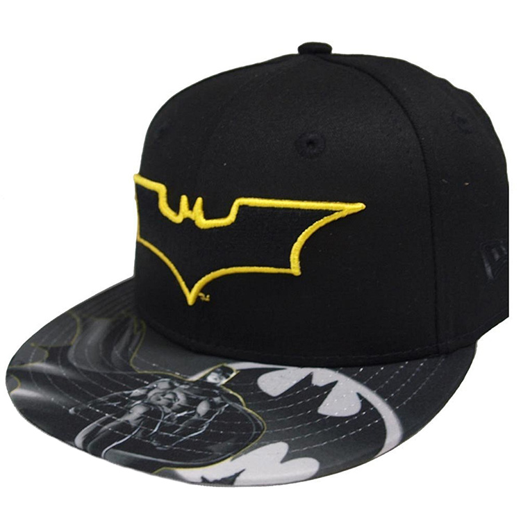 New Era Snapback Cap Character Outline Batman 9FIFTY Kinder