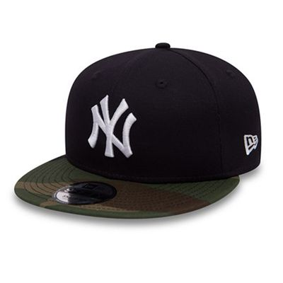 New Era 9Fifty Snapback Cap NY Yankees Navy Camo Produkt Foto