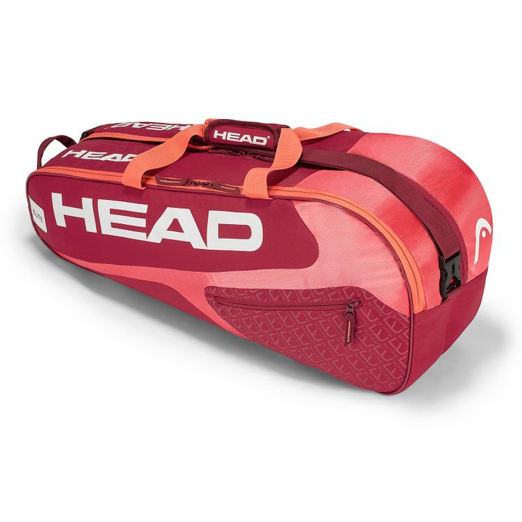 HEAD Elite 6R Combi Tennistasche Rot Pink
