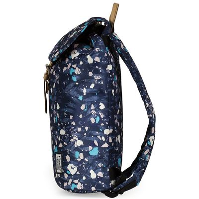 The Pack Society Backpack Blue Speckles Allover Rucksack Blau - Thumb 3