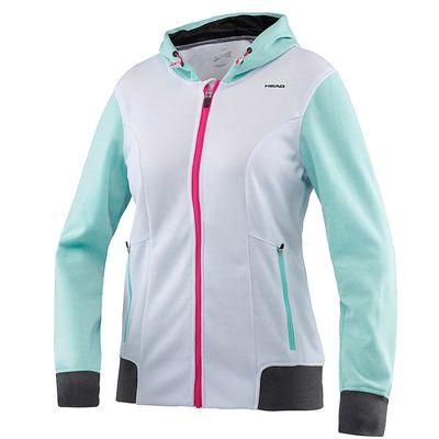 HEAD Damen Vision CC Jacket Jacke Trainingsjacke Weiß  Produkt Foto