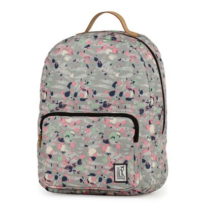 The Pack Society Backpack Grey Speckles Allover Rucksack Grau Produkt Foto