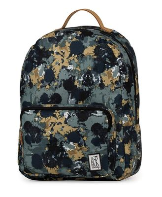 The Pack Society Backpack Green Camo Allover Rucksack
