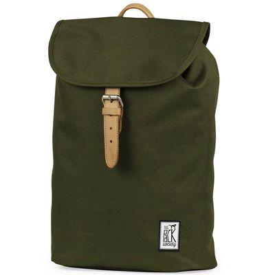 The Pack Society Backpack Solid Forrest Green Rucksack Produkt Foto
