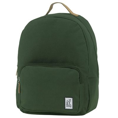 The Pack Society Backpack Solid Forest Green Rucksack Grün Produkt Foto