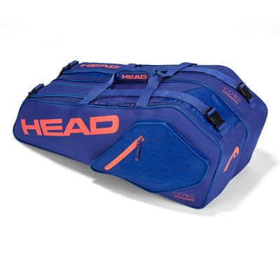 HEAD Core 6R Combi Tennistasche Blau Orange