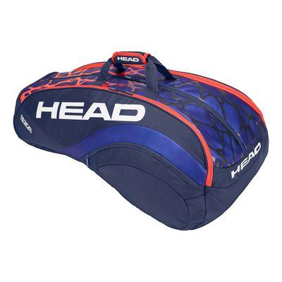 HEAD Radical 12R Monstercombi Tennistasche Blau Orange Produkt Foto