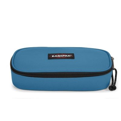 Eastpak EK717 Oval Single Federmäppchen Federmappe Etui Blau