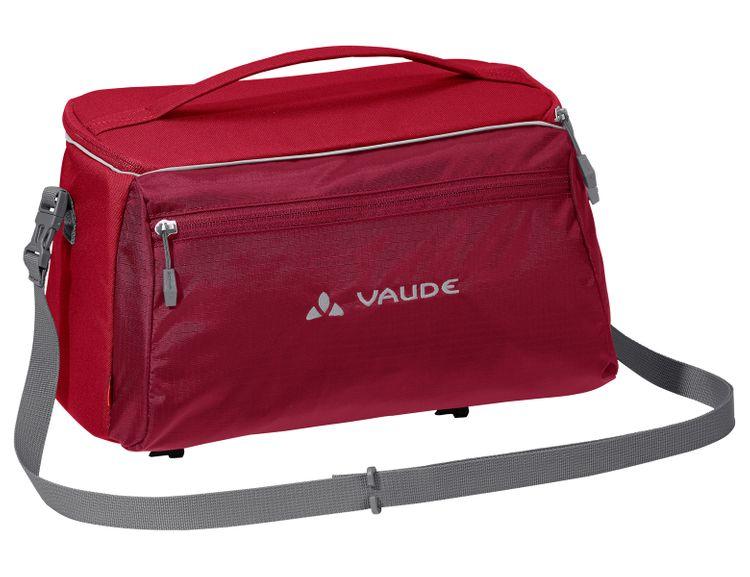 Vaude Road Master Shopper Marine Gepäcktragetasche Fahrradtasche Rot