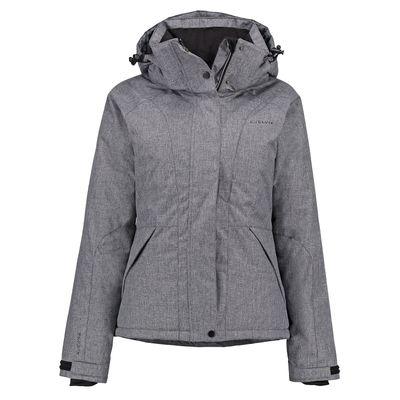 Kjelvik Winter Jacke Damen Alexis Ashgrey Grau  Produkt Foto