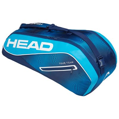 Head Tour Team 6R Combi Tennistasche Navy Blau Produkt Foto
