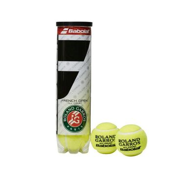 Babolat  - 4er Dose Ball Tennisbälle - French Open All Court Produkt Foto