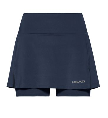 HEAD Club Basic Skort Damen Blau Produkt Foto