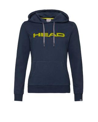 HEAD Club Rosie Hoodie Kapuzenpullover Damen Blau Gelb  Produkt Foto