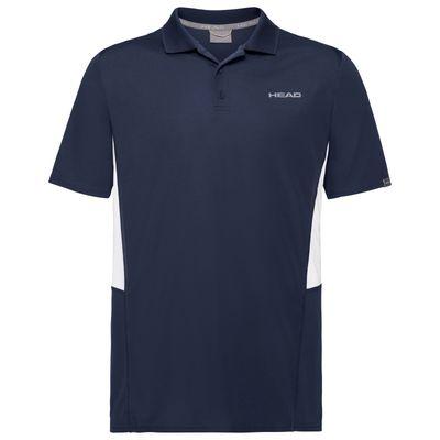 HEAD Club Tech Polo Shirt Herren Blau Produkt Foto