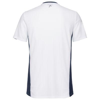 HEAD Club Tech T-Shirt Herren Weiß Produkt Foto
