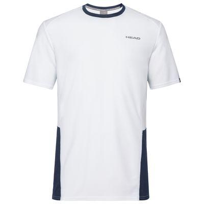 HEAD Club Tech T-Shirt Junior Kinder Boys Weiß Produkt Foto