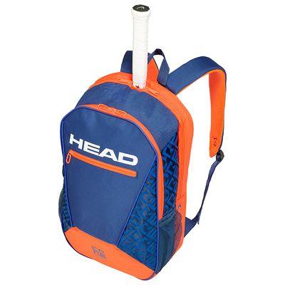 HEAD Core Backpack Rucksack Blau Orange Produkt Foto