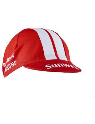 Craft Team Sunweb Bike Cap Sunweb Red Fahrrad Cap Rot Onesize Produkt Foto