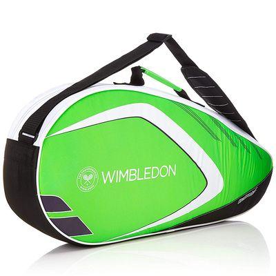 Babolat Racket Holder X3 Tennistasche Schlägertasche Club Wimbledon Grün  Produkt Foto
