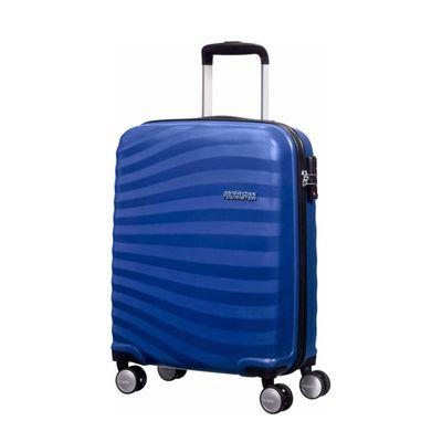 American Tourister Ocean Front Spinner Trolley Koffer 55 cm Ocean Blue Produkt Foto