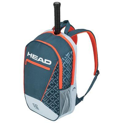 HEAD Core Backpack Rucksack Grau / Orange Produkt Foto