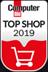 Auszeichnung Computer Bild TOP SHOP 2019