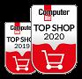 Auszeichnung Computer Bild TOP SHOP 2020