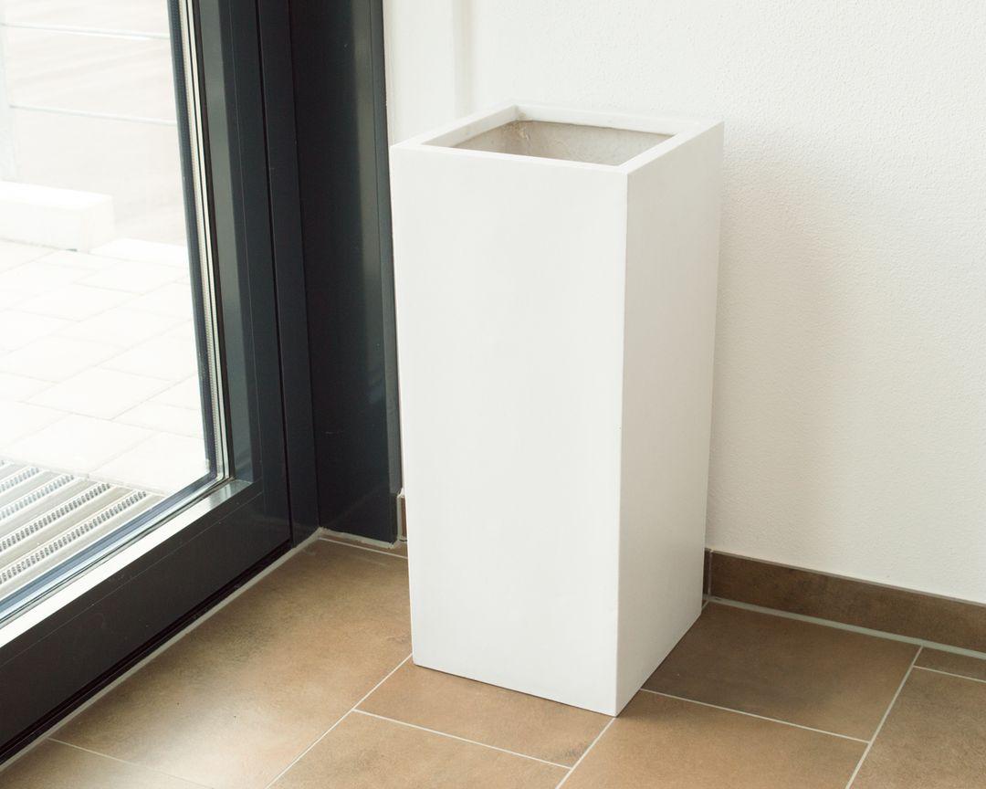 K/öhko/® Blumenk/übel Raumteiler aus Fiberglas /übert/öpfe Pflanzk/übel f/ür Innen und Drau/ßen 55x22x65 cm Anthrazit