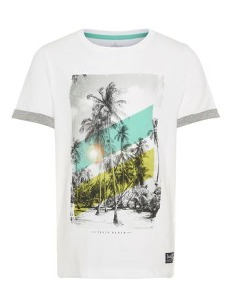 name it Kids Jungen T-Shirt, Shirt ZOLIVER in bright white