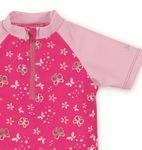 Sterntaler Baby Mini Badeshirt, Schwimm-Shirt kurzarm in magenta Bild 2
