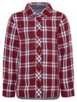 name it Mini Jungen Hemd, Shirt KIMO Karo in ruby wine Bild 1