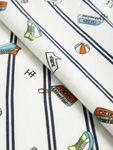 name it Mini Jungen Langarmshirt, Shirt Nandrew mit Streifen in snow white Bild 3