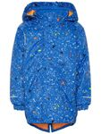 name it Mini Jungen Skijacke, Winterjacke SNOW03 in lapis blue