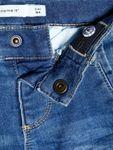 name it mini Jungen Jeans, Sweat-Hose SILAS DNMATOM in medium blue (Passform slim fit) Bild 3