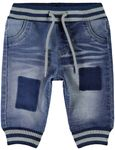 name it Baby Jungen Jeans, Pumphose, Denim Pant BOB in medium blue denim