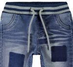 name it Baby Jungen Jeans, Pumphose, Denim Pant BOB in medium blue denim Bild 3