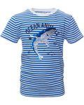 REVIEW KIDS Mini Jungen T-Shirt, Shirt mit Wendepailetten in indigo white Bild 3