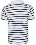 name it Mini/Kids Jungen Polo-Shirt, Shirt VALLO mit Streifen in bright white