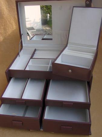 XL zeitgenössisches Schmuckkästchen Marion Schmuck NEU – Bild 2