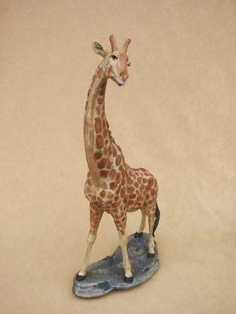 Giraffe stehend Figur Tierfigur Sammelfigur Tier