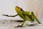 Frosch aus Metall Figur Deko 47 cm TOP 001