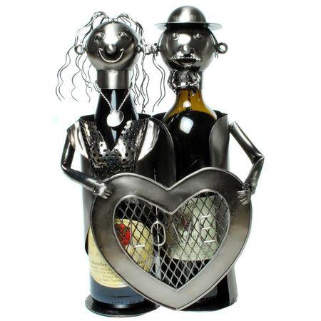 Flaschenhalter Pärchen Weinflaschenhalter Liebe Wein Weinständer