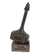Mjolnir Thors Hammer bronziert Sammel Figur Thor Odin 001