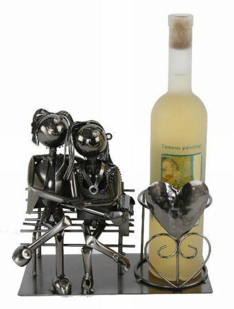 Flaschenhalter Liebespaar Weinflaschenhalter Liebe Wein Weinständer