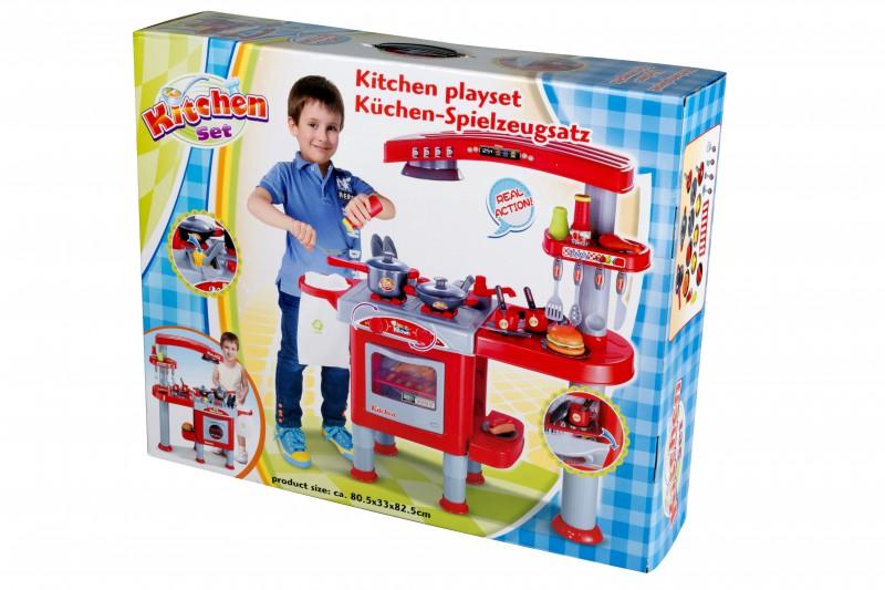 Kinder Küchen Spielzeugsatz 69 teilig Küche Deko und Wohnen Spiele ...