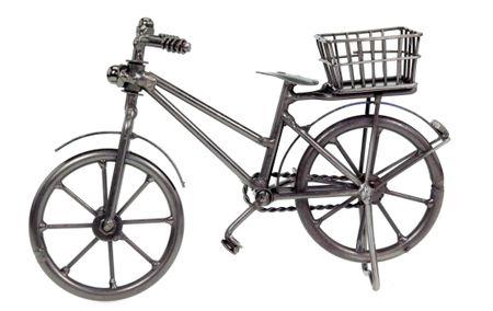Fahrrad mit Korb Deko Geldgeschenk Geschenk – Bild 1